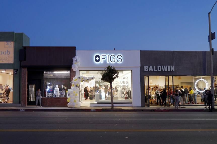 The five-year-old company recently opened a pop-up store on trendy Melrose Avenue in Los Angeles.