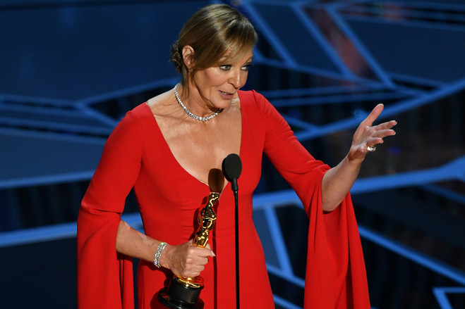 Allison Janney won best supporting actress award at the 2018 Oscars.