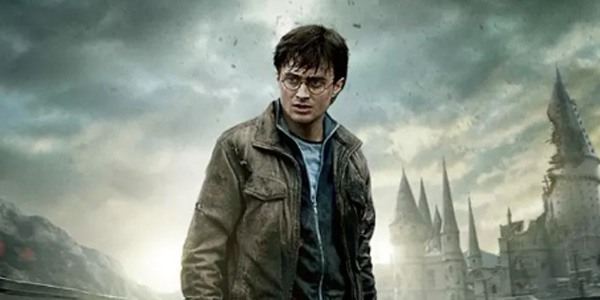 Daniel Radcliffe as Harry Potter as an adult