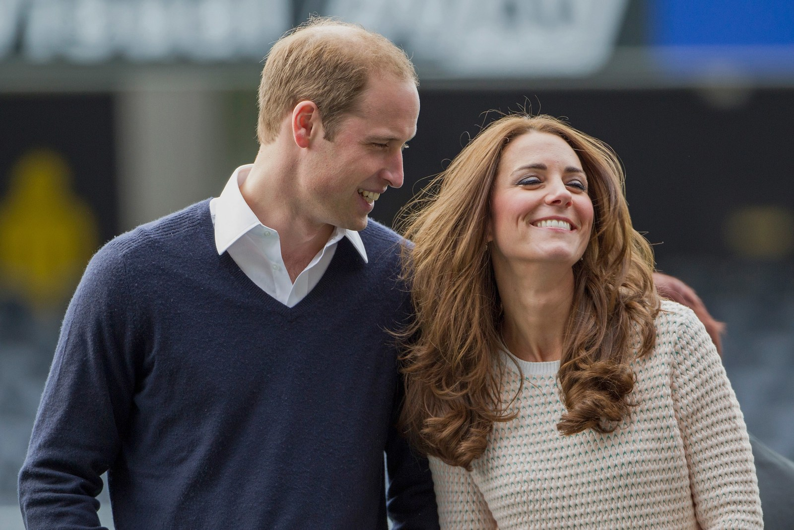 Prince William and Kate Middleton in April 2014.