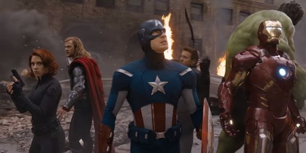 When our heroes first assembled in The Avengers