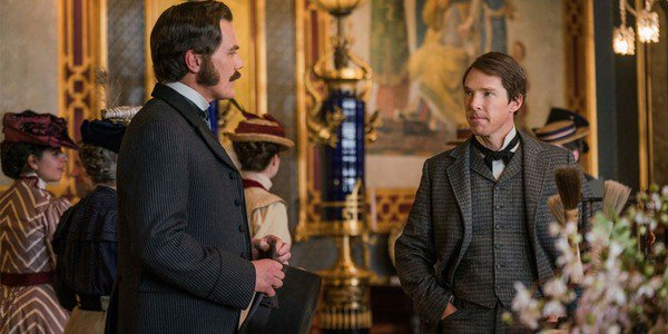 Benedict Cumberbatch and Michael Shannon in The Current War