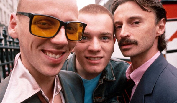 Trainspotting Ewan Bremner Ewan McGregor and Robert Carlyle pose for a picture