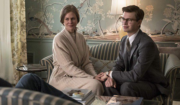 Ansel Elgort and Nicole Kidman in The Goldfinch