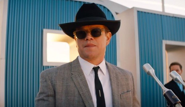 Matt Damon as caroll Shelby