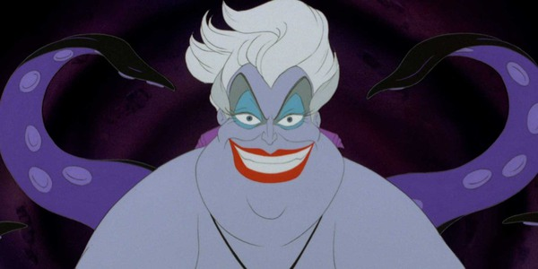 Screenshot of Ursula in The Little Mermaid