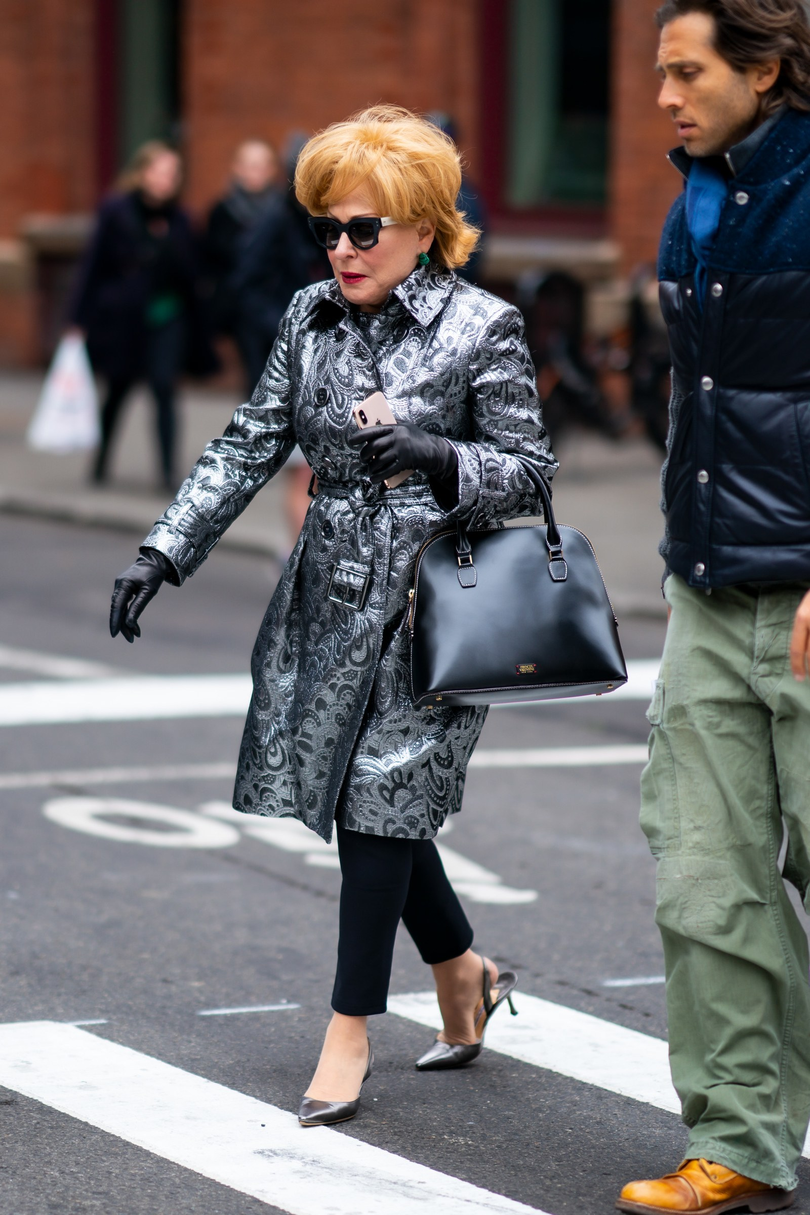 What Celebrities Wear In Winter Bette Midler