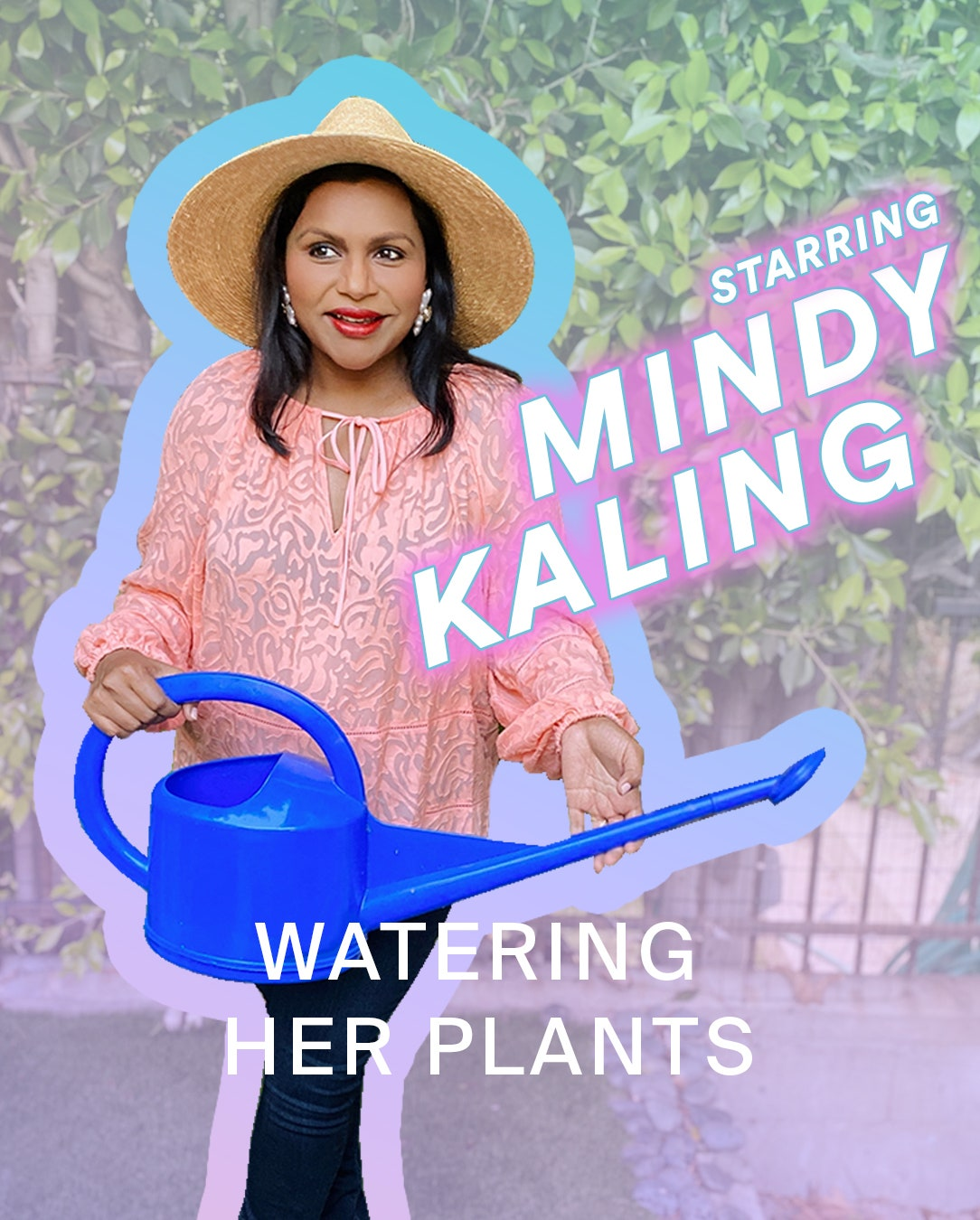 Image may contain Clothing Hat Apparel Mindy Kaling Human Person and Sun Hat