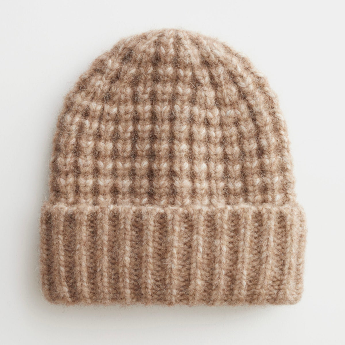 & Other Stories Chunky Knit Wool Blend Beanie