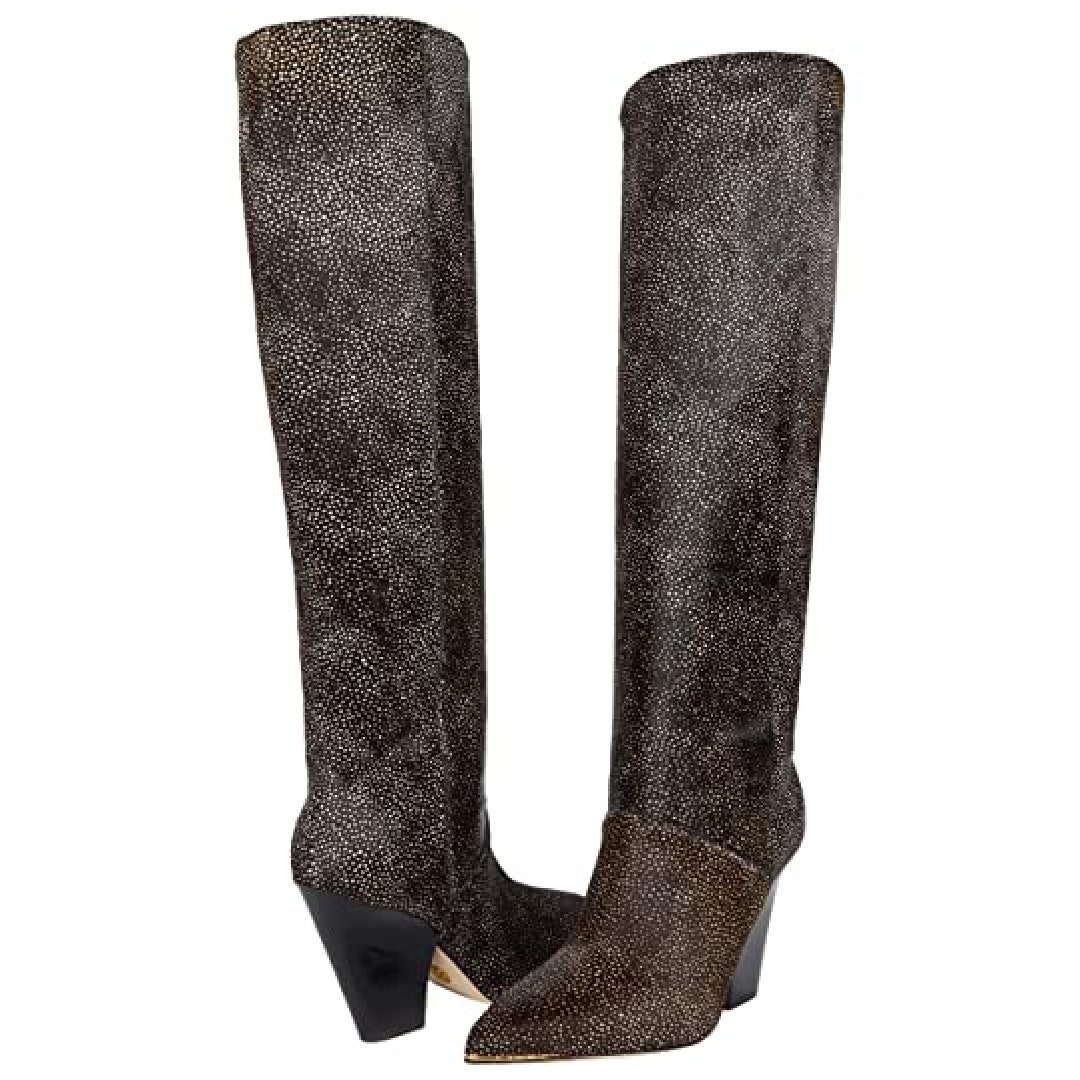 how to wear over the knee boots textured over the knee boots